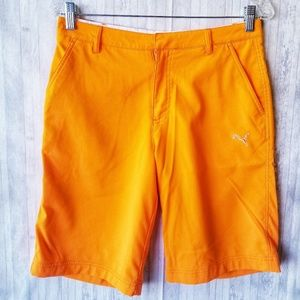 Puma Lifestyle Orange Shorts